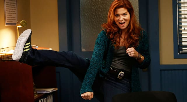 Holiday movie with debra messing