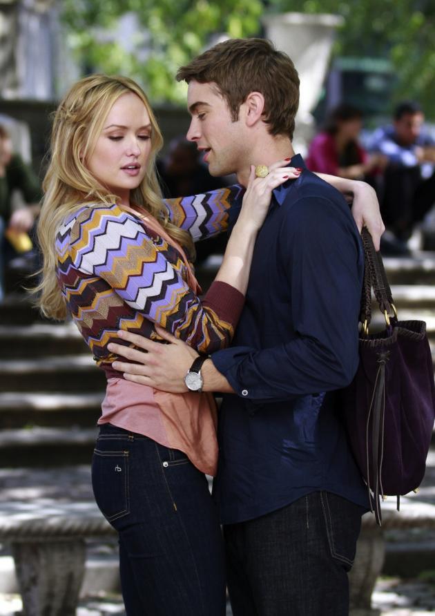 Gossip girl kissing scenes