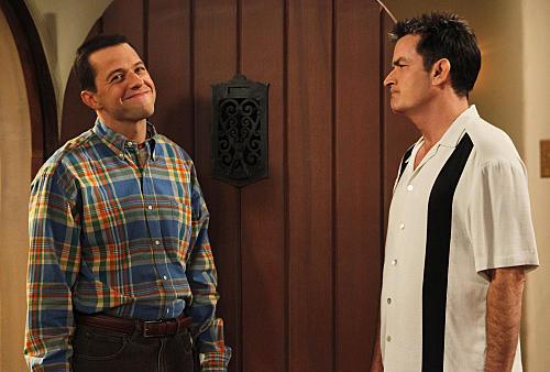 Да, юмор в сериале практически всегда крутится вокруг любовных утех чарли
