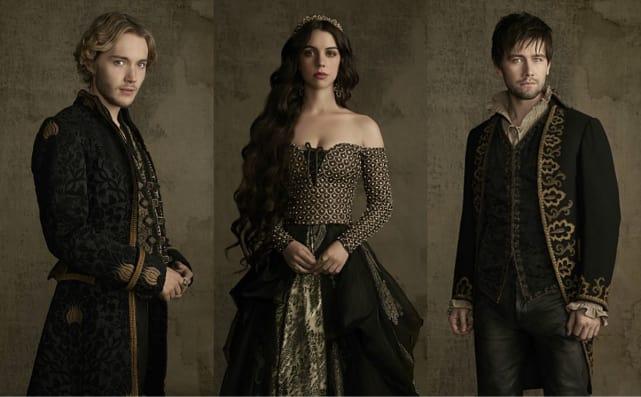Reign cast