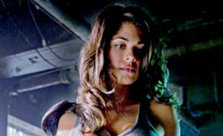 Lindsay Hartley on Smallville
