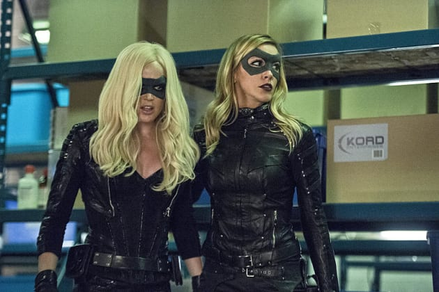 The Canaries - Arrow Season 4 Episode 6