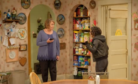 Bickering Family - Roseanne Season 10 Episode 4
