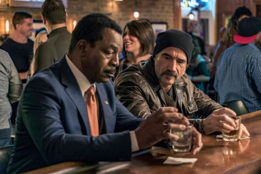 Mark Jefferies Visits - Chicago PD Season 4 Episode 15