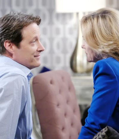 Eve confronts Jack - Days of Our Lives