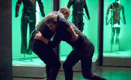Unnecessary Fight - Arrow Season 6 Episode 17
