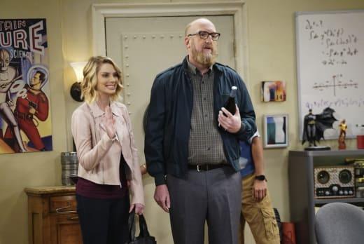 Bert's New Girlfriend - The Big Bang Theory Season 10 Episode 21