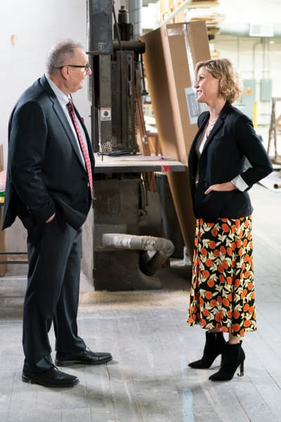 Jay and Claire at Work - Modern Family Season 10 Episode 13