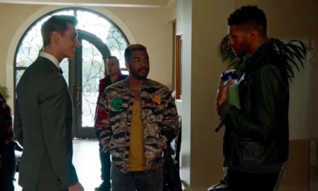Jay, Alexi, and Xavier... Awkward!  - UnREAL Season 3 Episode 6