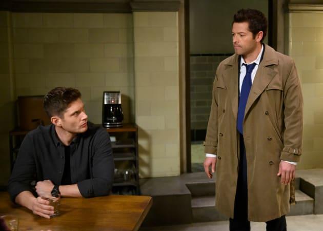 Castiel has News - Supernatural Season 14 Episode 19