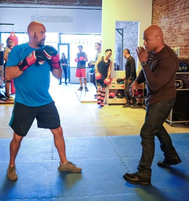 Fight Club - NCIS: Los Angeles Season 10 Episode 4