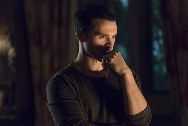 enzo gets to work on a new plan the vampire diaries season 7