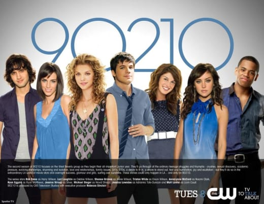 90210 Season Two Poster