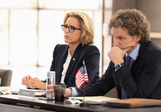 Bess and Jay at Conference - Madam Secretary Season 5 Episode 6
