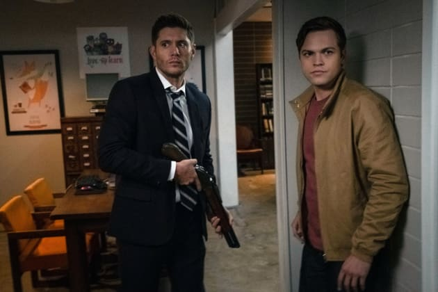 Dean And Jack Hideout - Supernatural Season 14 Episode 6