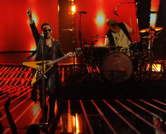 Lenny Kravitz on The X Factor