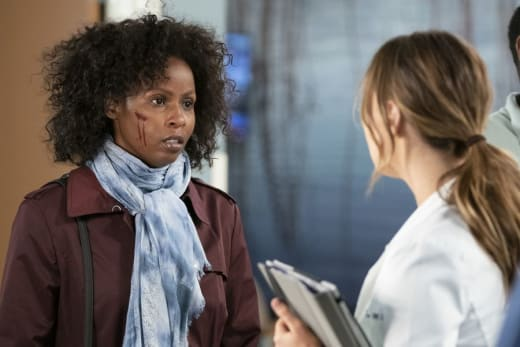 Confronting Her Past - Grey's Anatomy