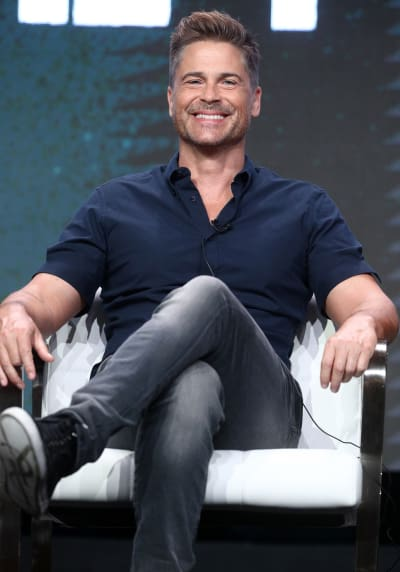 Rob Lowe Attends TCAs in 2017