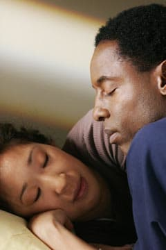 Sandra Oh & Isaiah Washington