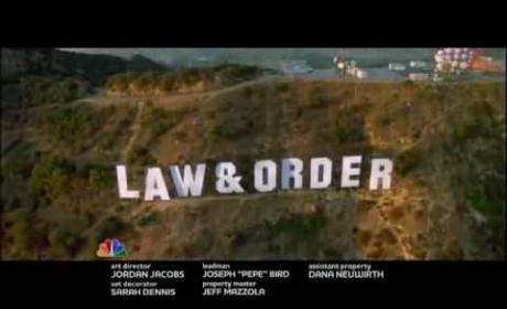 Law & Order: Los Angeles Teaser