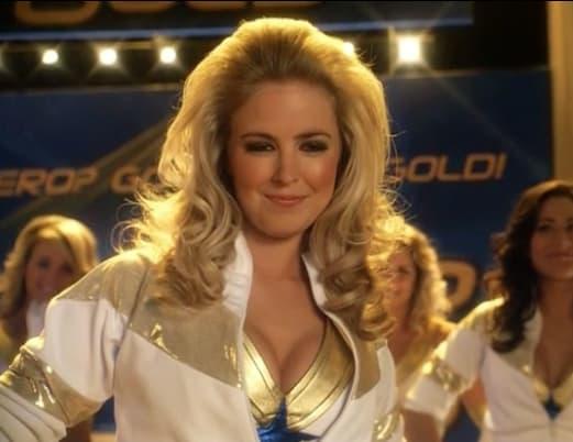 "Kat Grant as a ""Golden Girl"""