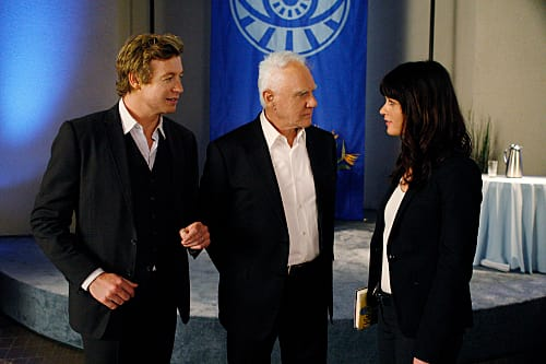 Malcolm McDowell on The Mentalist