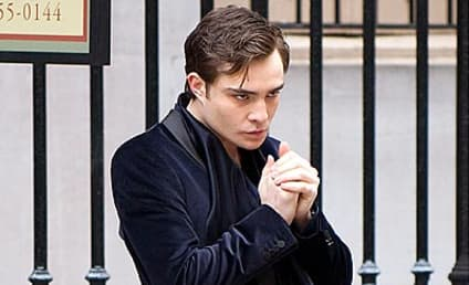 Ed Westwick Steps Darkly Into Character