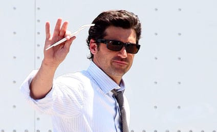 Patrick Dempsey Takes Lunch, Looks Dreamy