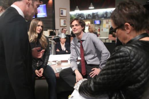 Matthew Gray Gubler as Director - Criminal Minds Season 10 Episode 21