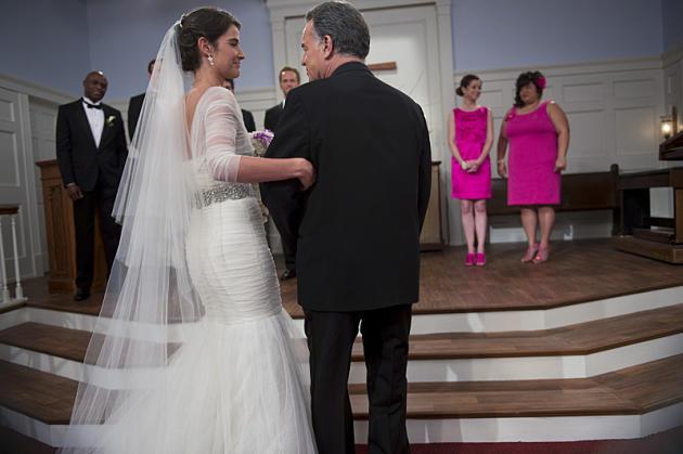 Robin as a Bride