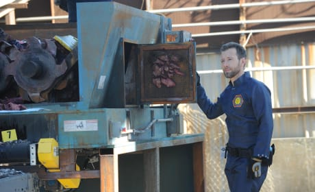 Hodgins Finds a Face! - Bones Season 10 Episode 15