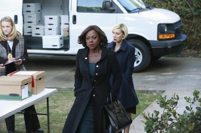 Annalise's New Look - How To Get Away With Murder Season 1 Episode 10