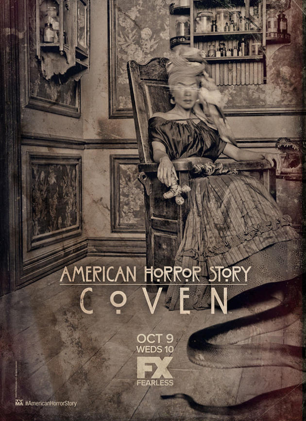 New American Horror Story: Coven Poster