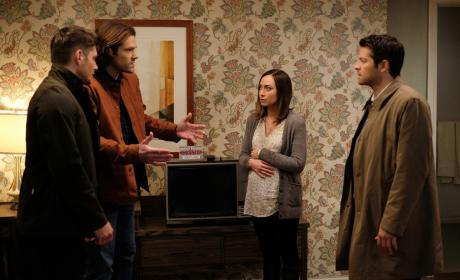 Sam tries to explain - Supernatural Season 12 Episode 19