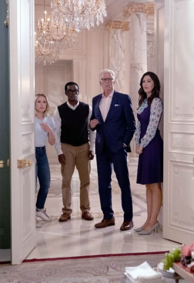 The Gang  - The Good Place Season 4 Episode 13