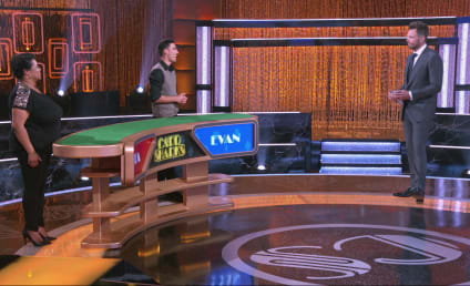 Card Sharks Season Premiere Exclusive: Will Evan's Faith in Humanity Give Him the Advantage?