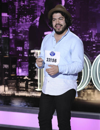 Ramiro Garcia on American Idol