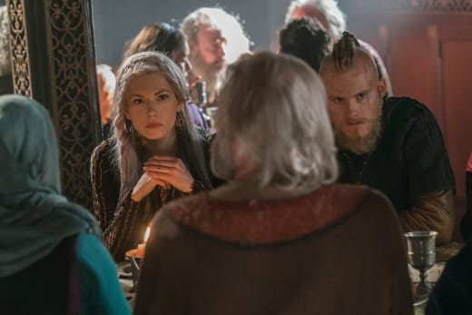 Lagertha and Bjorn - Vikings Season 5 Episode 12