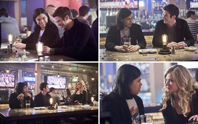 Boys night out the flash s1e16