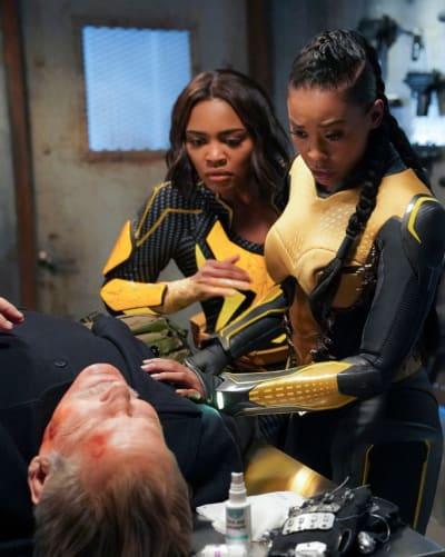 Wounded Ally - Black Lightning Season 2 Episode 16
