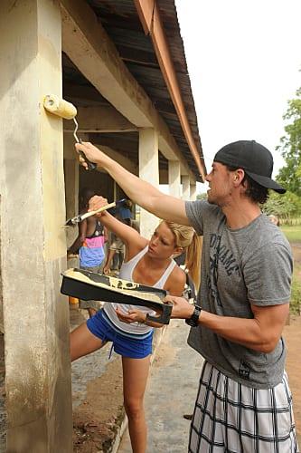 Jill and Thomas Painting