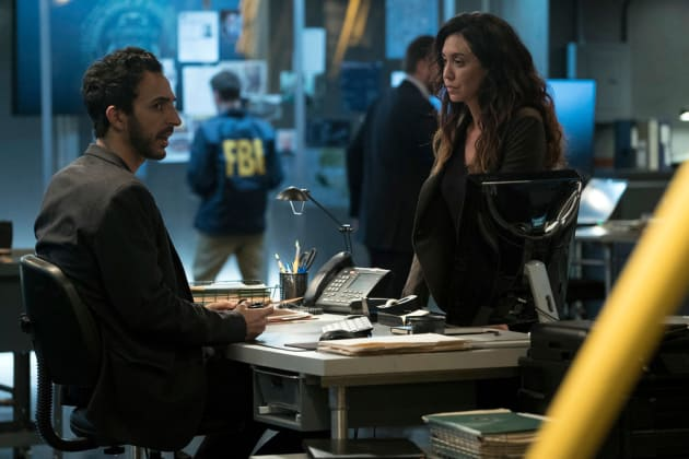 Aram talks with Samar - The Blacklist Season 4 Episode 14
