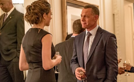 Voight and Burgess Attend a Cocktail Party - Chicago PD Season 5 Episode 8