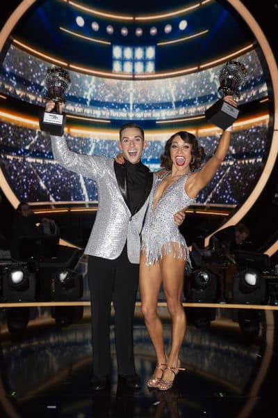 Adam Rippon Wins the Mirrorball Trophy! - Dancing With the Stars: Athletes