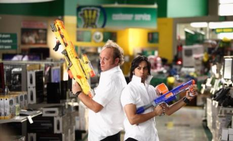 Jeff and Lester Armed