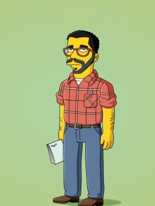 David Mamet on The Simpsons
