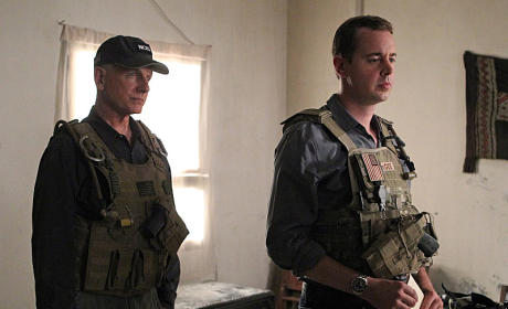Gibbs & McGee in Afghanistan