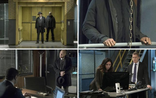 Red and dembe make a grand entrance the blacklist season 4 episo