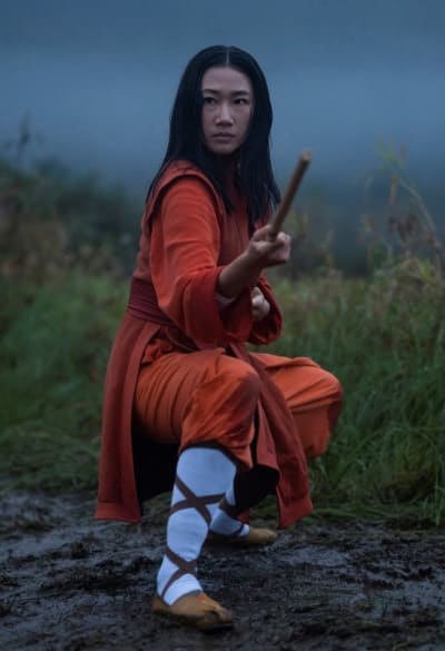 Nicky Chen Training Outfit Tall - Kung Fu Season 1 Episode 1