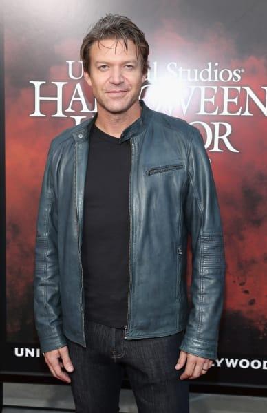 Matt Passmore Enjoying Halloween Horror Nights